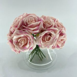BM01 Bunch rose 7 heads, only pink available