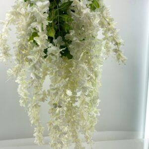 HF01 Hanging white flowers