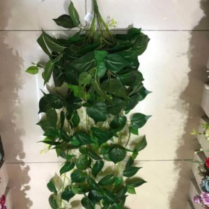 Hanging green basket (123cm) -HG14