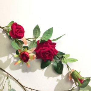 Rattan rose large -RF01