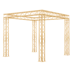 AA06  Gold Square Box Truss 20*20cm