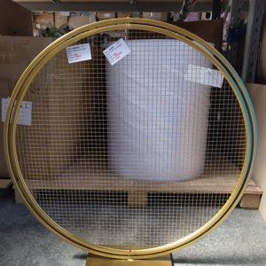 AI207G: stand round mesh 80cm