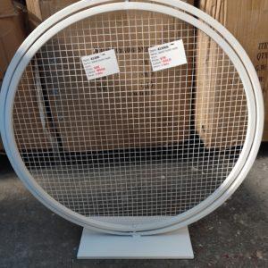 AI206: stand round mesh 60cm white