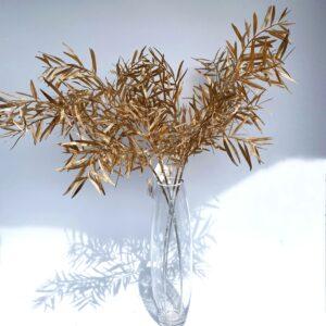 GL48: Gold willow leaf