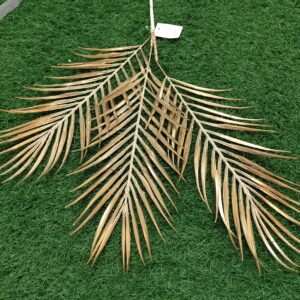 GL67: Areca palm 3 forks gold