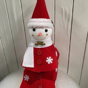 Smiling Snowman - Christmas Decoration