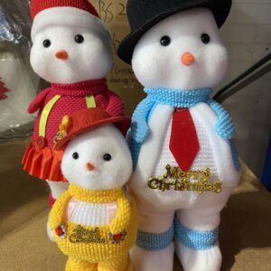 Adorable Family Christmas Toy