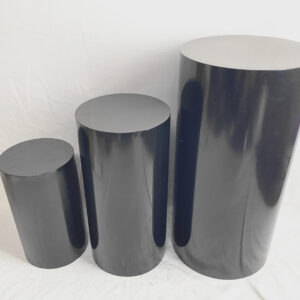 AI 42 Black plinth set of 3
