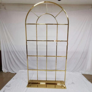 AI244Arch mesh  window GOLD