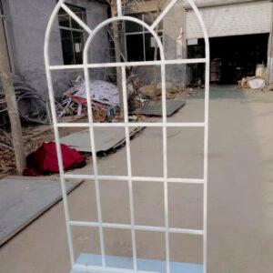AI244 arch mesh window WHITE