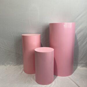 AI42 round plinth PINK